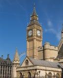 Pulso de disparo de Ben grande em Londres Imagem de Stock
