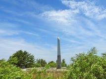 Pulso de disparo de Sun em Neringa, Lituânia Imagem de Stock Royalty Free