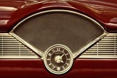 Pulso de disparo dentro de um carro clássico dos anos 50 Foto de Stock