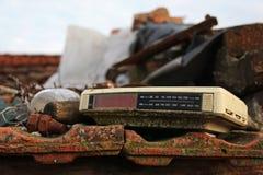 Pulso de disparo digital velho em um quintal Imagens de Stock