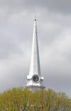 Pulso de disparo do Steeple da igreja do vintage Fotografia de Stock