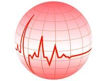 Pulso do coração Ilustração Royalty Free