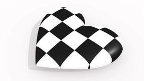 Pulsos del corazón de Chesscage, lazo libre illustration