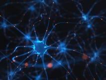 Pulsos eléctricos de las neuronas libre illustration