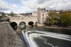 pulteney Великобритания моста ванны Стоковая Фотография