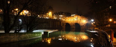 pulteney моста ванны Стоковая Фотография