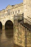 pulteney моста историческое Стоковое фото RF