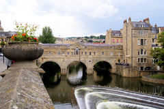 Pulteney Bridge, Bath Royalty Free Stock Images