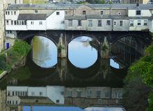 Pulteney Bridge in Bath Royalty Free Stock Photos