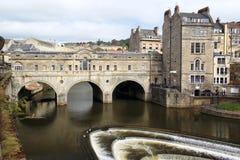 Pulteney bridge in Bath Royalty Free Stock Image