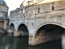 Pulteney Bridge in Bath Royalty Free Stock Images