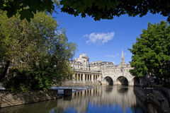 Pulteney Bridge and the River Avon Stock Photo