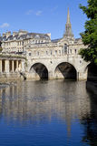 Pulteney Bridge and the River Avon Royalty Free Stock Photo