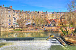 Pulteney Weir, Bath Stock Images