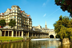 The Pulteney weir in Bath Stock Photography