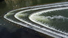 Pulteney Weir Royalty Free Stock Photography