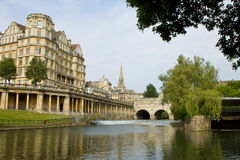Pultney Bridge Bath England royalty free stock photo