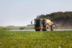 Pulvérisateur chimique agricole Images libres de droits