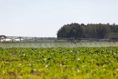 Pulvérisateur chimique agricole Image stock