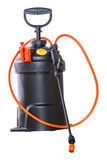 Pulvérisateur pneumatique de pesticide image stock