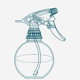 Pulvérisez le déclencheur, atomiseur, pulvérisateur, pulverizer, pistolet pneumatique Photos stock