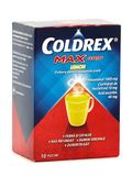 Pulver Coldrex Max Grip Lemon Stockbilder