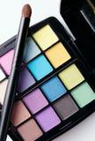 Pulver in den verschiedenen Farben Stockfoto