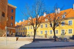 Pulver-Turm Latvian Pulvertornis ist der einzige Turm, der s hat lizenzfreie stockfotos
