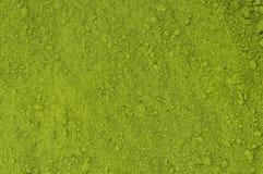 Pulver von grüner Tee matcha Stockbild