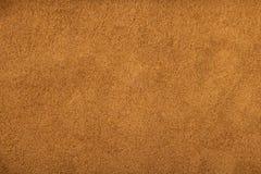 Pulverbeschaffenheit des gemahlenen Kaffees Stockfoto