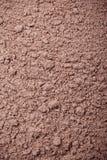 Pulverisierte Schokolade Stockfotografie