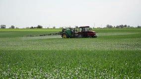 Pulverização da colheita filme