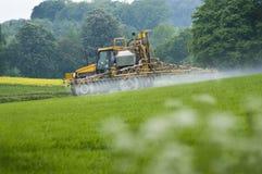Pulverização da colheita Foto de Stock Royalty Free