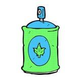 pulverizador cômico da fragrância dos desenhos animados Foto de Stock
