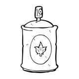 pulverizador da fragrância dos desenhos animados Fotos de Stock Royalty Free