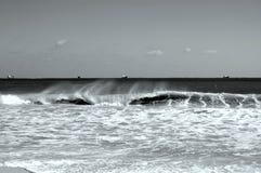 Pulverizador da onda Imagem de Stock