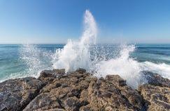 Pulverizador da onda Fotografia de Stock