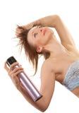 Pulverizador de cabelo Imagem de Stock