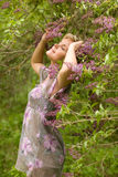 Pulverizador do lilac Imagem de Stock Royalty Free