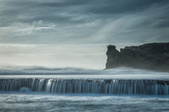 Pulverizador do oceano imagem de stock