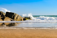Pulverizador do oceano Imagem de Stock Royalty Free