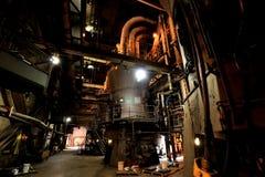 Pulverizer άνθρακα στις εγκαταστάσεις ηλεκτρικής δύναμης Στοκ Φωτογραφίες