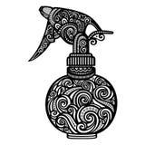 Pulverizer ornamentado do vetor Foto de Stock Royalty Free
