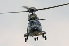 Puma d'Aérospatiale SA 330 de l'Armée de l'Air suisse Photographie stock libre de droits
