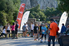 Puma event Run the lake - Athens, Greece Royalty Free Stock Photo