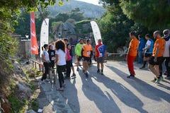 Puma event Run the lake - Athens, Greece Stock Photo