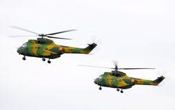 Puma helicopter / TransilvAero Show 2009 Royalty Free Stock Image