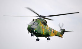Puma helicopter / TransilvAero Show 2009 Royalty Free Stock Photos