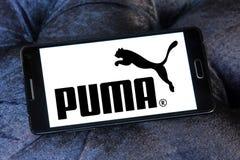 PUMA logo Fotografia Stock