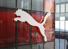 Puma Logo Stock Photo